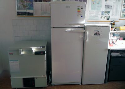 Refrigerator and freezers for biological samples preservation and storage